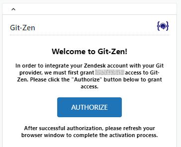 Git-Zen pre-authorization